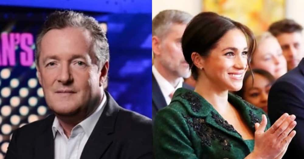 Piers Morgan Still at It, This Time He Calls Meghan Markle Delusional