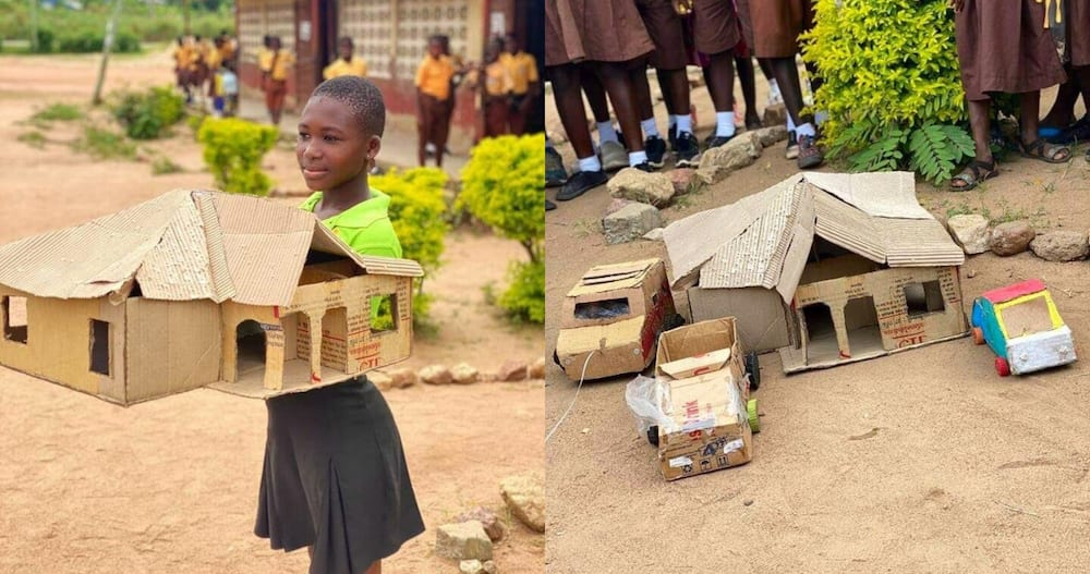 11-year-old primary girl makes powerful architectural designs for exhibition