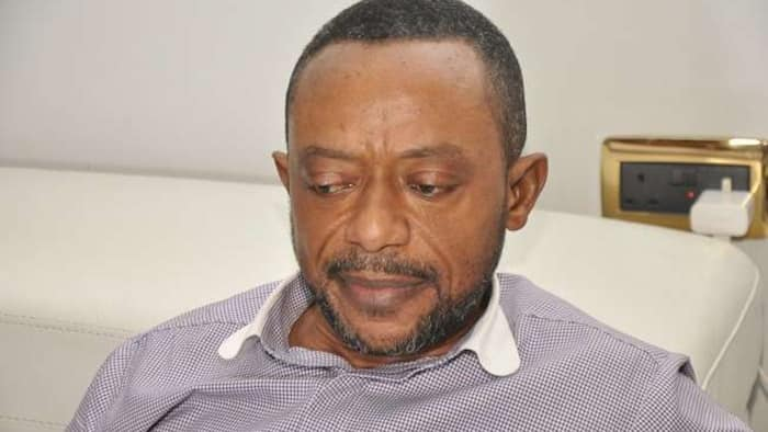 Photo of Owusu Bempah in handcuffs pops up after being rushed to the hospital