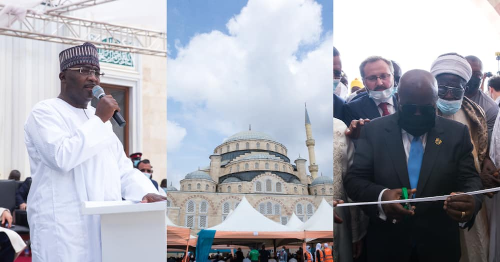 Akufo-Addo Commissions Ghana's National Mosque; Chief Imam, other dignitaries grace Occasion