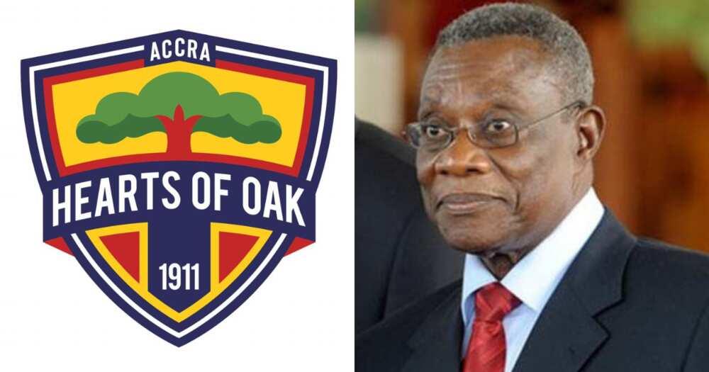 Atta Mills Foundation donate GhC20,000 to Accra Hearts of Oak