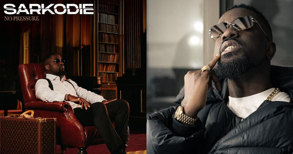 5 facts to know about Sarkodie's 'No Pressure' album; GH stars, fans react to content
