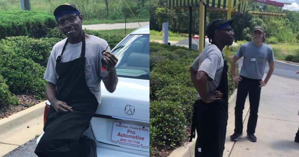 Love thy neighbour: Kind customer gifts restaurant worker a car