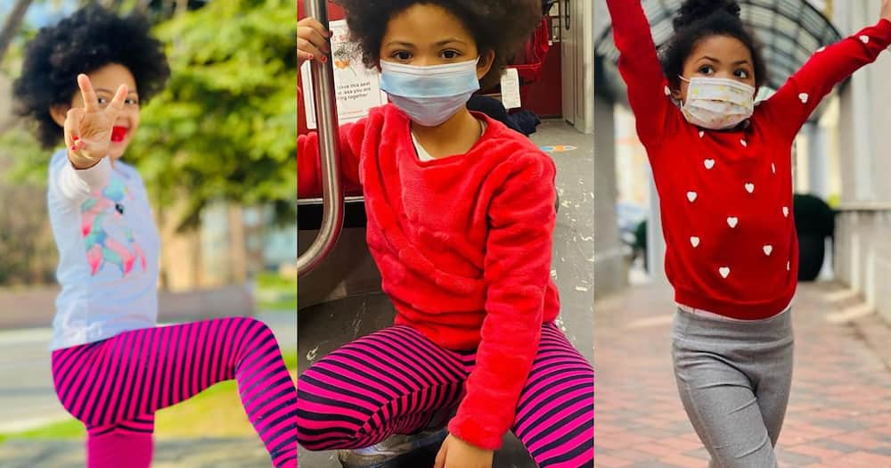 Baby Lorde: Kafui Danku's Daughter Captures Hearts with her 5 new Photos and Video