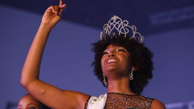 Miss Congo wins Africa beauty pageant