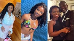 5 beautiful bikini photos drop as Ken Agyapong's daughter Anell celebrates 27th birthday on a boat