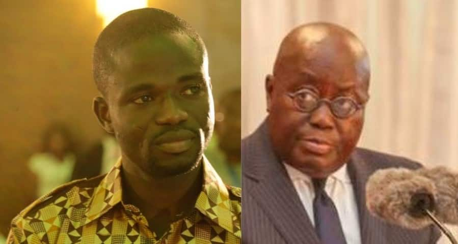 Mixed reactions shared as top journo compares Akufo-Addo's gov't to a bar of soap from Circle