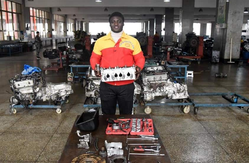 Photo story of Ghanaian student making laudable strides at Chinese vocational school
