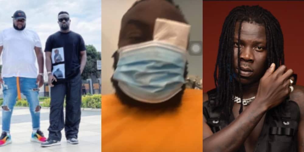 BhimNationStillSolid: Ghanaian react after Stonebwoy pulled a gun and punched Sarkodie's manager