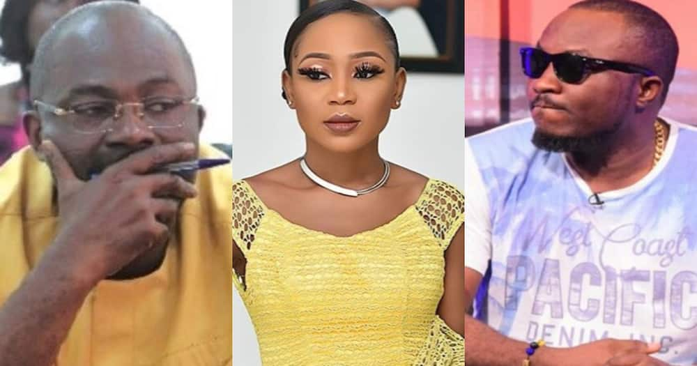 Akuapem Poloo Makes U-turn after DKB Reported her to Police; says Kennedy Agyapong donated too
