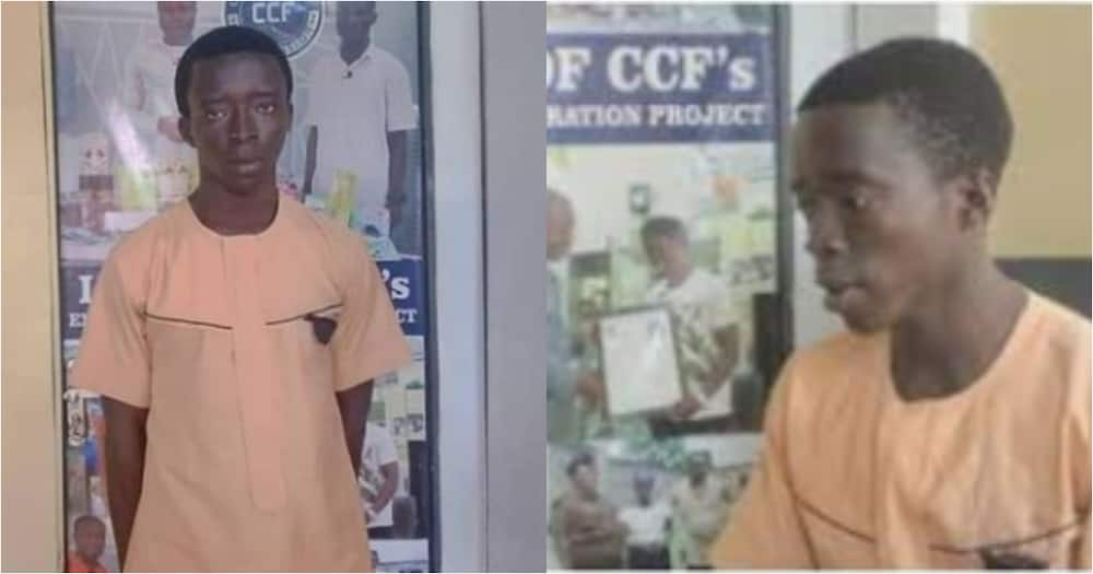 Abu Yahya: Ex-convict who bagged grade 16 in BECE in jail admitted into Awe Senior High School
