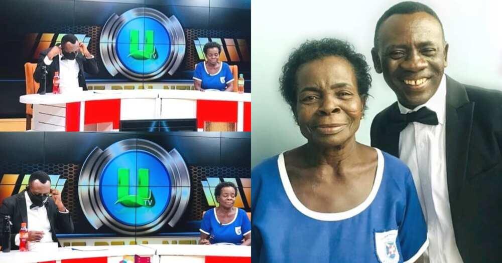 Elizabeth Yamoah: Akrobeto features 57-year-od JHS leaver on Real News