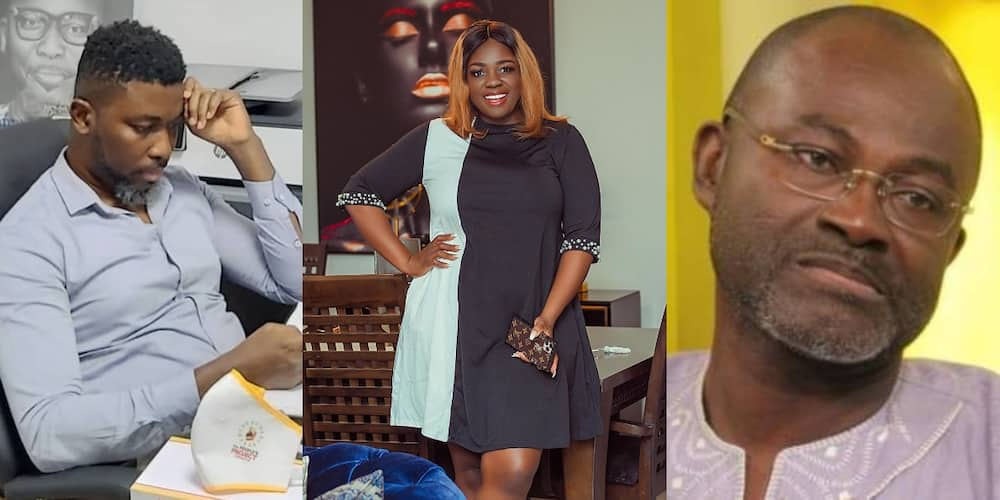A-Plus refused to pay after sleeping with you - Ken Agyapong disgraces Tracey Boakye (Video)