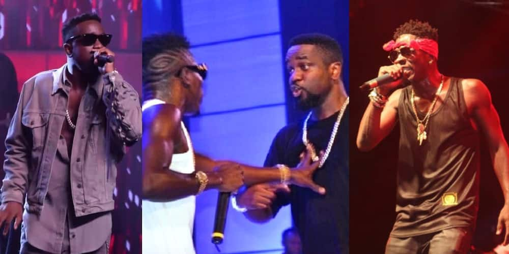 Shatta Wale performs with Sarkodie at Black Love concert (Video)