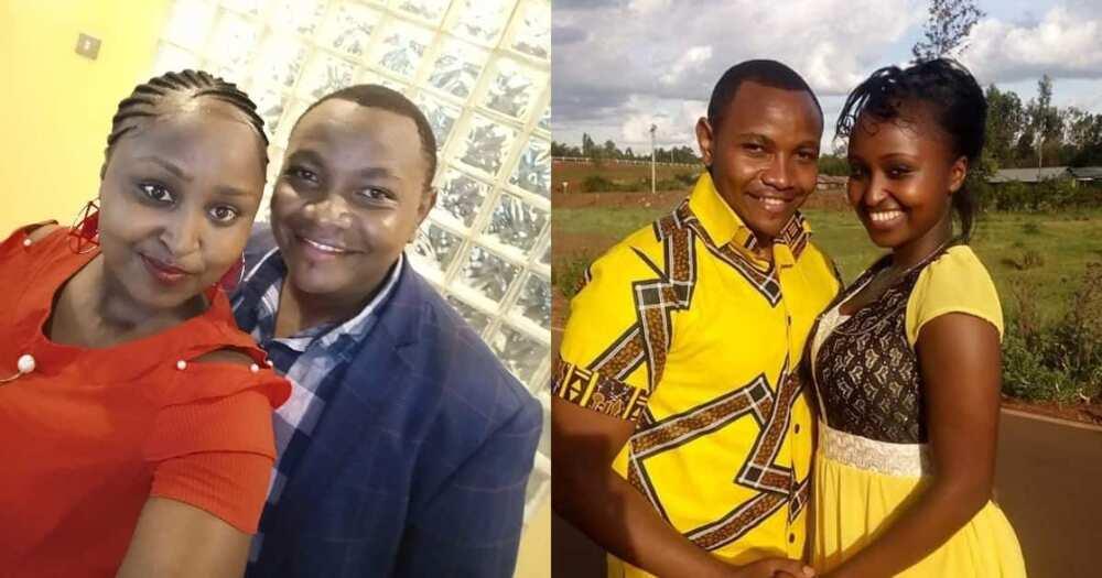 Martin Njenga and Diana Njenga.
