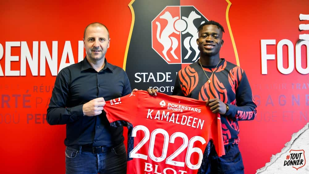 Highly rated Ghanaian winger Kamaldeen Sulemana joins French club Stade Rennes