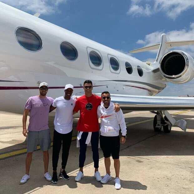 Cristiano Ronaldo: A look inside Juve star's £20 million Gulfstream private jet