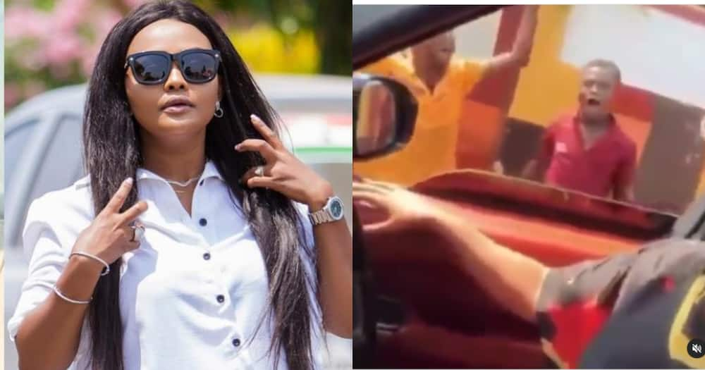 McBrown: Town boys Stop Actress While she Drives in town; Want to Appear on United Showbiz