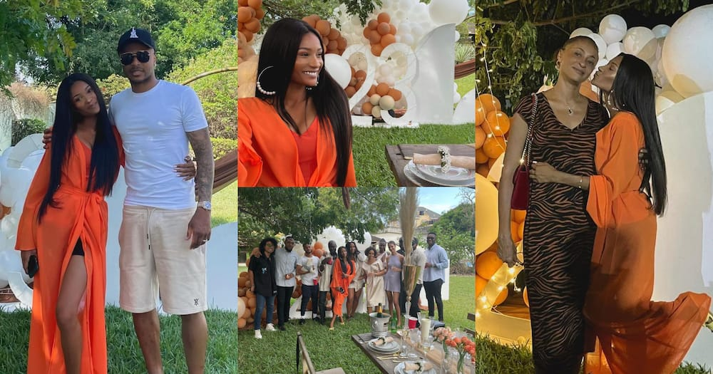 Imani Ayew: Abedi Pele's Only Daughter Celebrates Her 23rd Birthday With Her Mother And Dede Ayew; Photos Drop