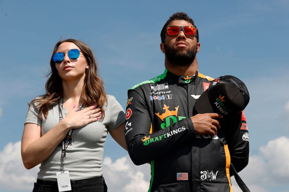 Bubba Wallace's wife