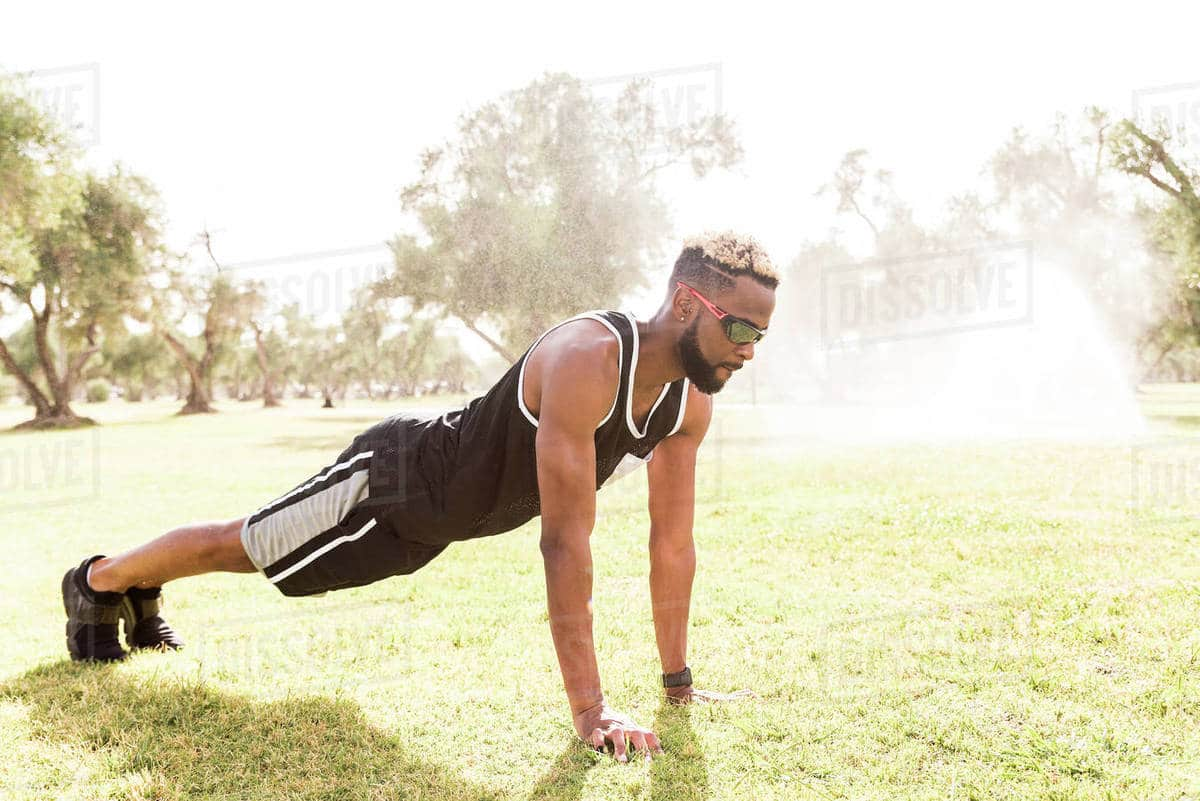 Men who can't do 10 push-ups a day are cutting their lives short, research says