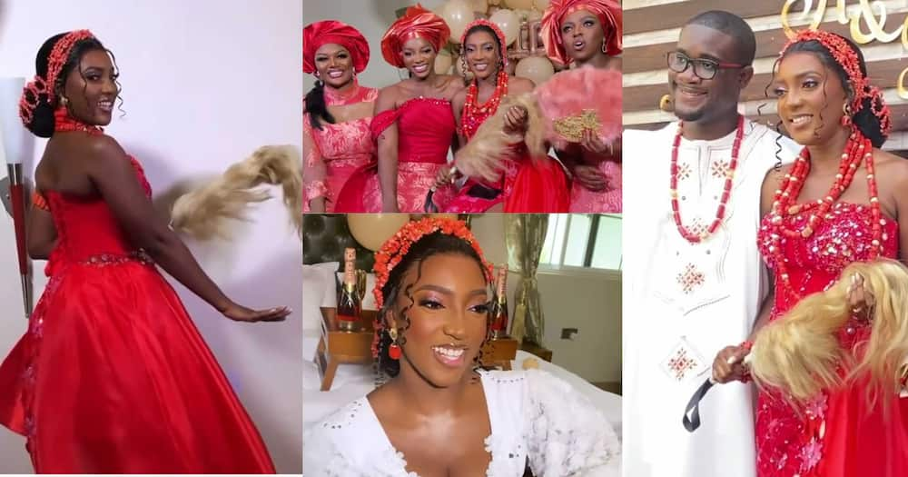Yvonne Okoro: More Videos From Plush Wedding Actress' Younger Sister Roseline Drop
