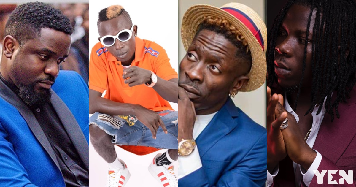 Patapaa chooses his top 5 and number 1 Ghanaian musician in new video