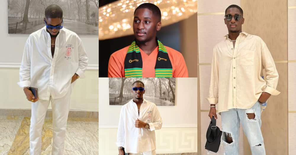 Fashion goals: Despite's youngest son drops 5 photos after graduating from TIS