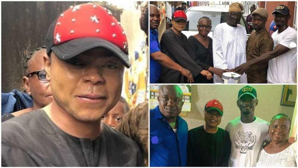 More photos from Nigerian cross-dresser Bobrisky's dad's birthday