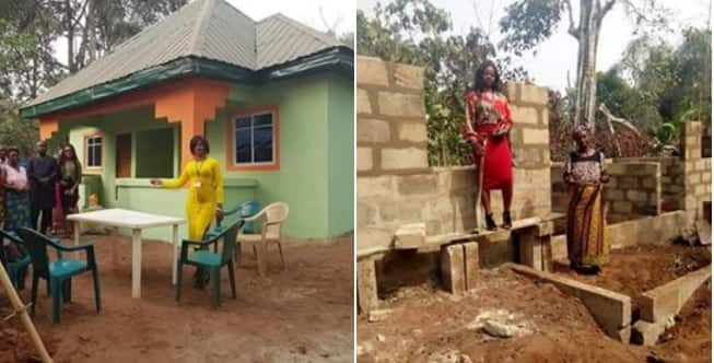 Augusta Anosike: Nigerian widow gets new home from Facebook contributions