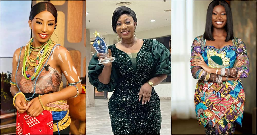 Meet 10 beautiful female presenters at GhOne TV taking over Ghana's screens