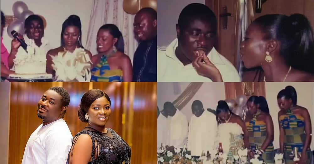 Stacy Amoateng & Okyeame Quophi Celebrate 16th Marriage Anniversary; Share Old Wedding Photos