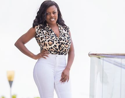 11 Nana Aba Anamoah photos that confirm she is a real 'jeans killer'