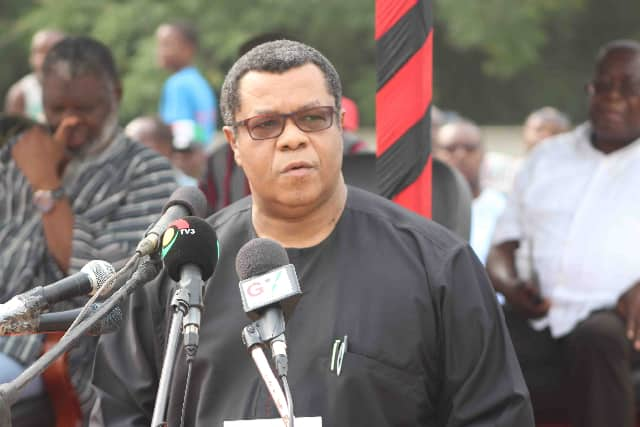 Goosie Tanoh campaign team begs NDC to stop printing ballots for primaries