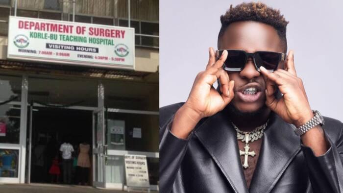 Frank Arhin: Injured victim from Medikal's Sowutuom concert abandoned at Korle-Bu begs for help