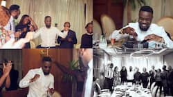 Beautiful photos from the classy 36th birthday party of Sarkodie pop up