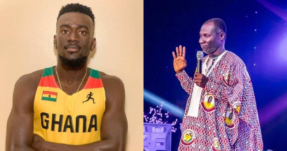 Keep Your prophecies: Ghanaian Athlete Joe Paul pleads with Badu Kobi