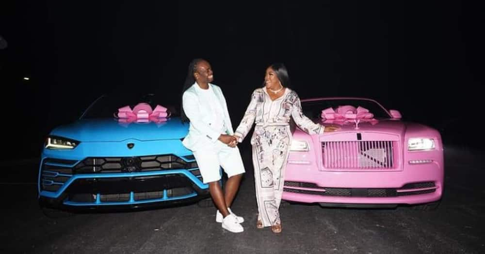 Man Spends 3 Months Preparing Extravagant Birthday Party for His Wife, Gifts Her New Lamborghini, Rolls Royce