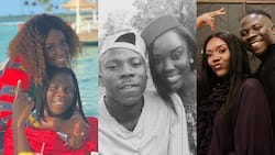 All-round woman: 12 photos and videos of Stonebwoy's wife Louisa as doctor, mother, fashionista, and mama Christmas