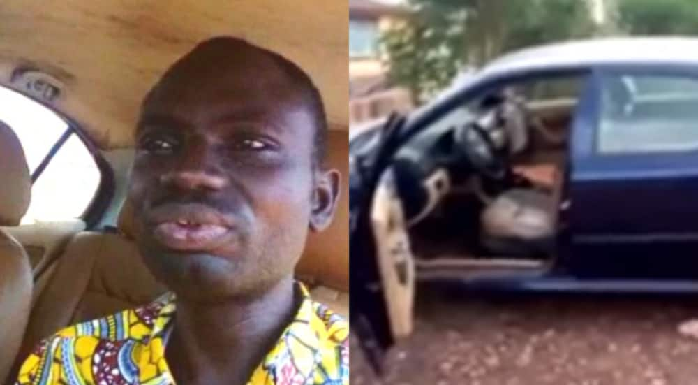 Gideon Biney: The Ghanaian teacher whose talking device alerts car owners about thieves