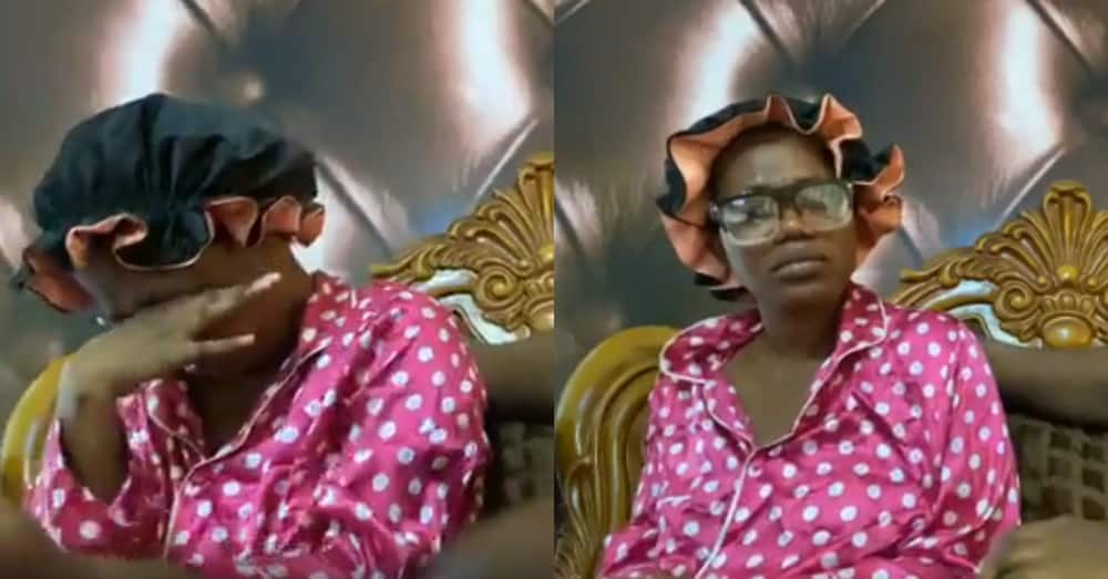Mzbel cries as she loses her unborn twin babies; drops photo