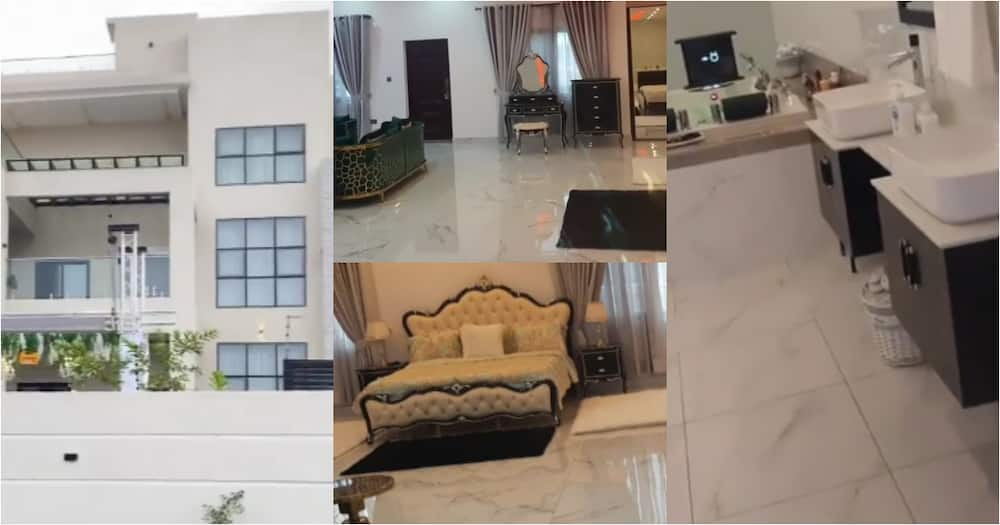 Dereck Danso Afriyie: A closer look inside the new 6-bedroom mansion of Ghanaian millionaire