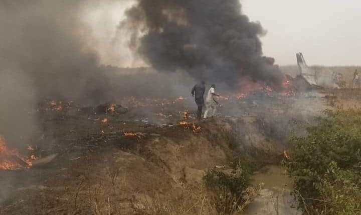List: Names of five peoples on board of crashed military plane finally emerge
