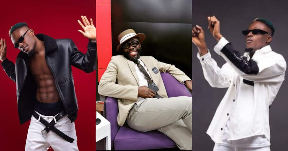 Andy Dosty is a big old fool - Okese 1 reacts after radio show host angrily sacked him from station