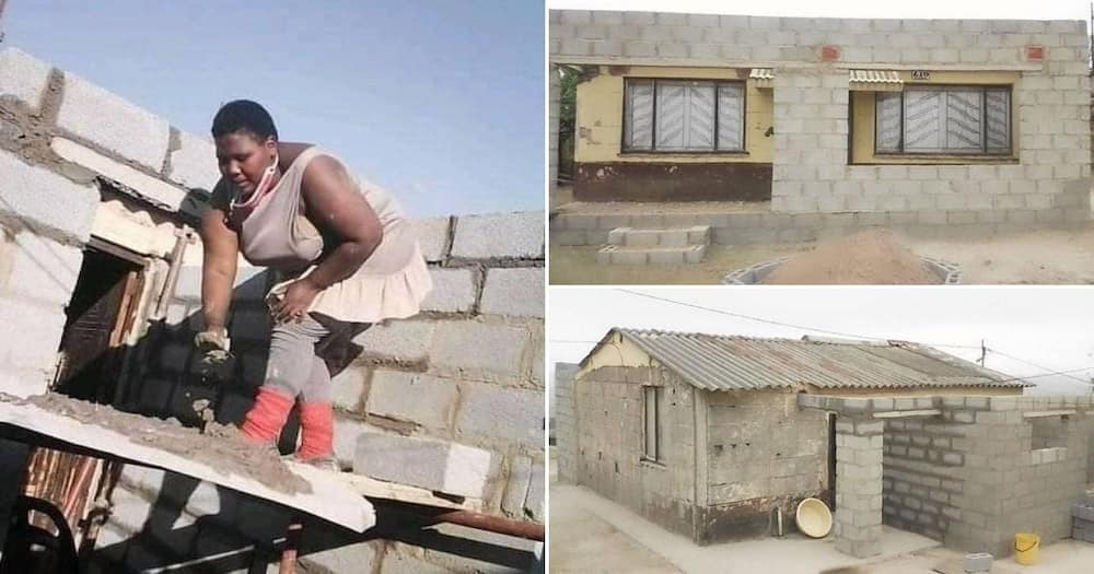 Mzansi inspired by female engineer who is building her own house