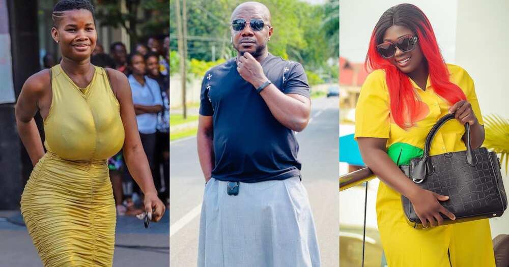 Osebo: Nana Aba Anamoah's baby daddy says he won't date Tracey Boakye, Poloo, Pamela Odame (video)