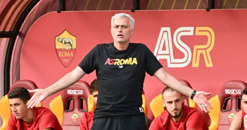 Jose Mourinho leads Roma to a 10-0 win in his first game with the Italian side