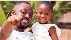Yaa Pono's 3-year-old daughter goes viral after speaking 'slangs' like a white girl in video