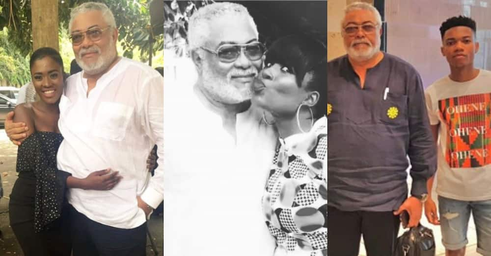 11 photos of Rawlings with Ghana's top celebrities that show he loved everybody