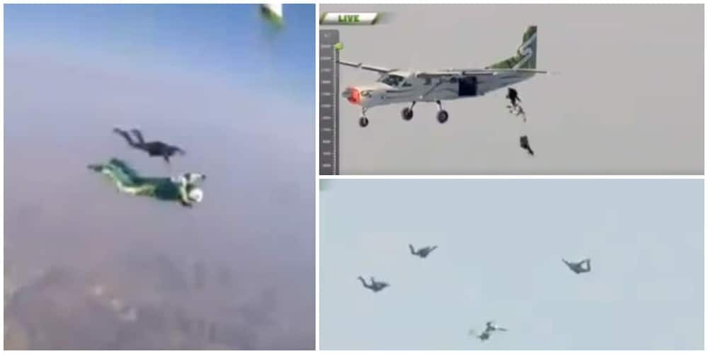 Man Jumps out of Jet Without Parachute from 7620 Meters to Break World Record, Video of his Act Goes Viral